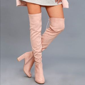 Chinese Laundry Krush Suedette Over the knee boots